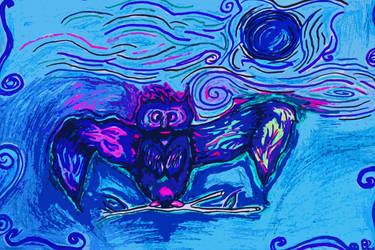 Owl of wisdom by divinerogue1991