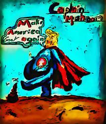 Captain Mushroom by divinerogue1991