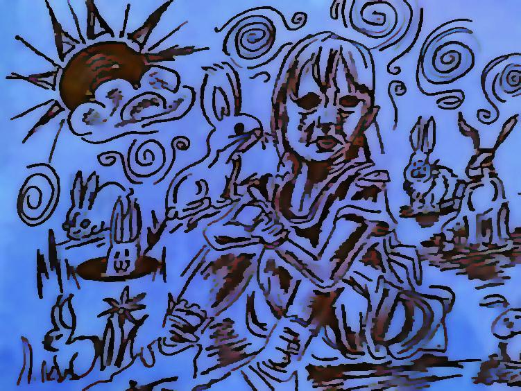 June in Wonderland by divinerogue1991