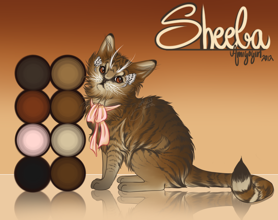 Reference Sheet - Sheeba by AmigoGirl