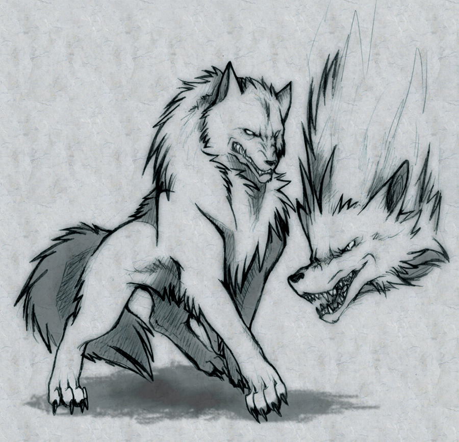Fenrir Wolf by ByoWT1125