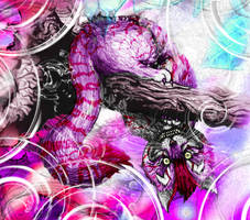 The Cheshire Cat by dcbats2000