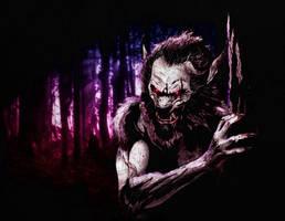 Werewolf by dcbats2000