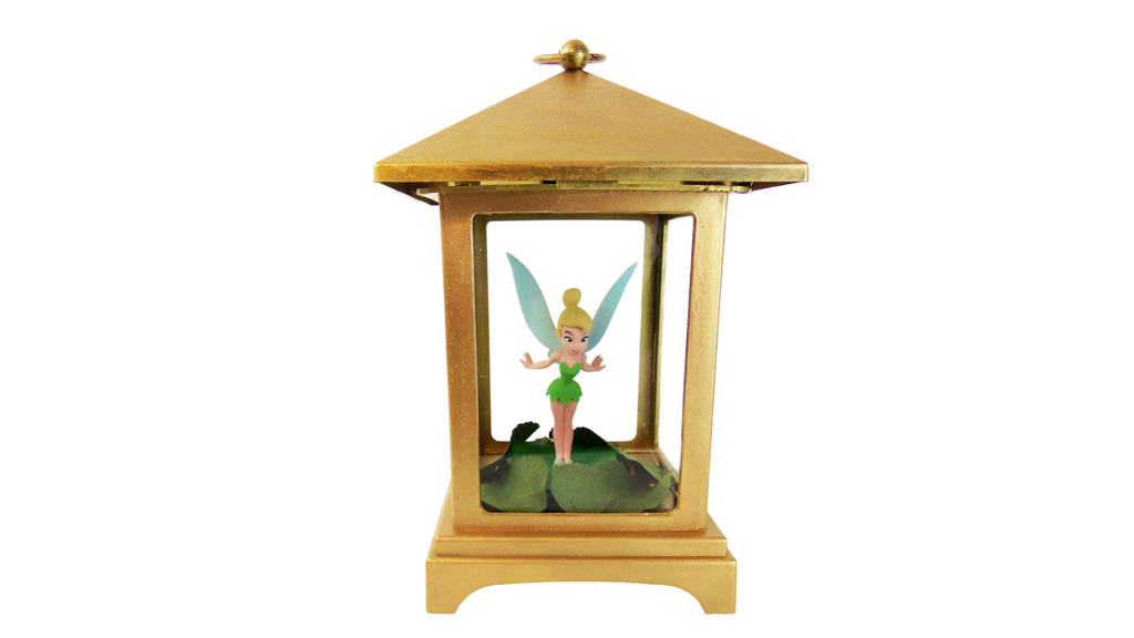 diy peter pan tinkerbell in a lantern by craftymcfangirl
