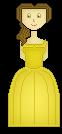 Belle Pixel Doll by xxbrighidxx