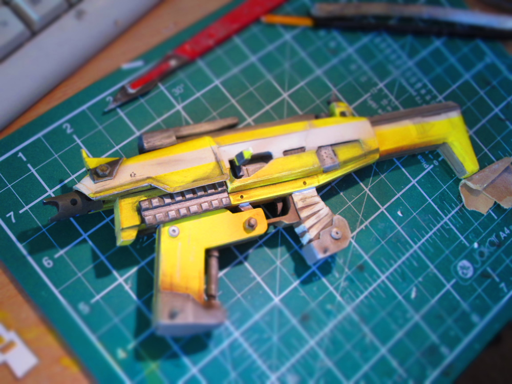 Borderlands 2 - Hyperion Submachine Gun by theradish01 on