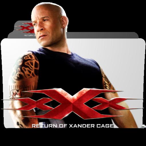 Xxx Return Of Xander Cage 2017 Folder Icon 1 By Bsharazen On Deviantart