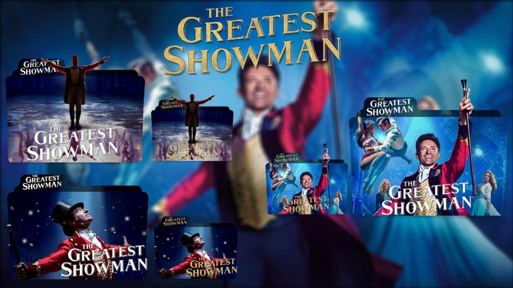 The Greatest Showman 2017 Folder Icon Pack By Bsharazen On Deviantart