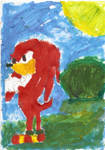 knuckles painting