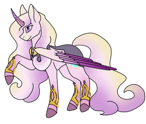 Princess Cadence (Redesign) by AnOverworkedAngel