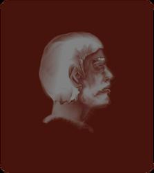 Profilo di un uomo by dermamred