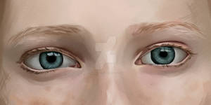 Eye study #2 1 layer only