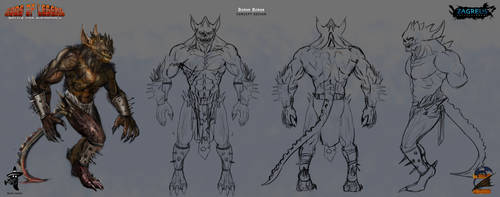 Demon-deman-blueprint Ze by zagreusent
