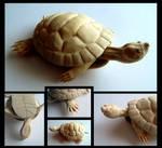 Turtle Carving Unpainted