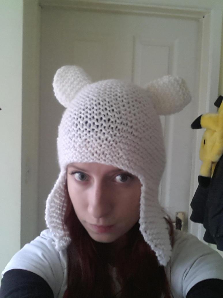 Adventure Time Knitting Patterns : knitted Finn hat adventure time by LightningChaser on DeviantArt