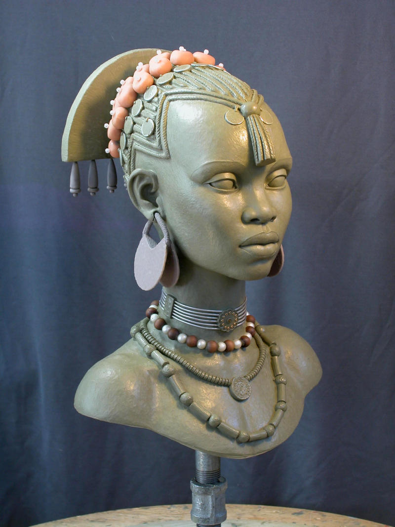 E.V. female bust 2 by MarkNewman