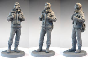 Tuskegee Airman by MarkNewman