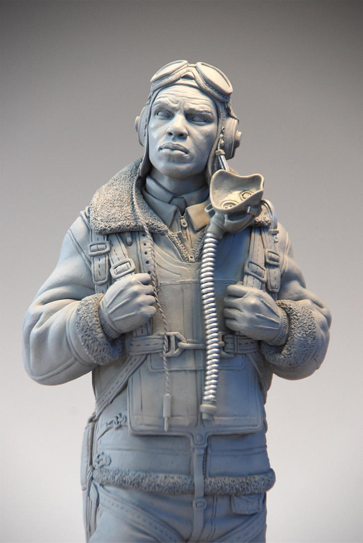 Tuskegee airman by marknewman on deviantart