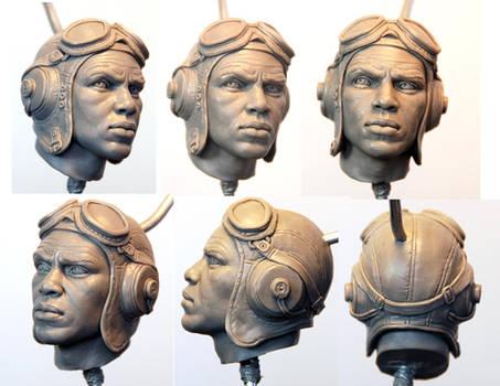 tuskegee Airman head