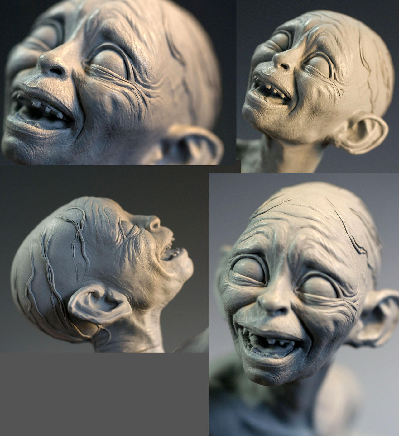 Smeagol close up. by MarkNewman