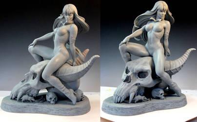 Vampirella sculpt 1 by MarkNewman