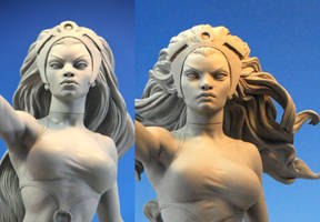 'Storm' heads by MarkNewman