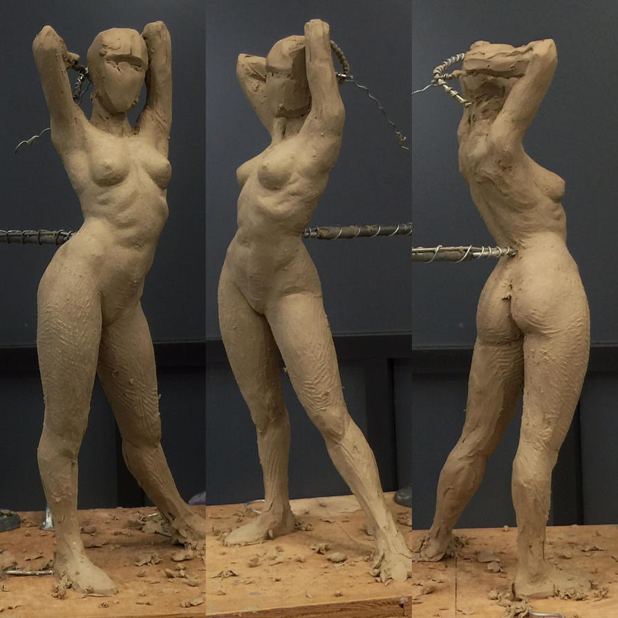 WIP Figure sculpt by MarkNewman