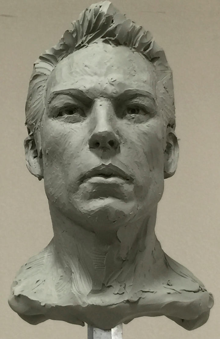 Demo head sculpt. by MarkNewman