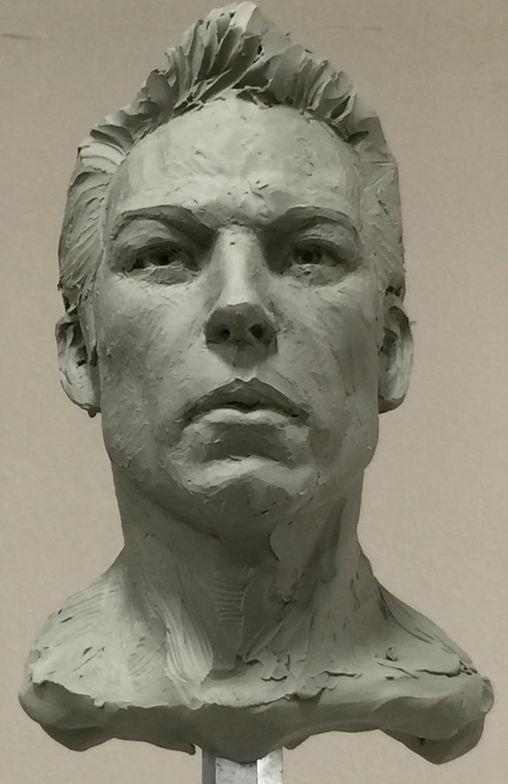 Demo head sculpt. by MarkNewman