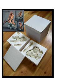 Original Newmanoid Models Neil Andrythal model kit