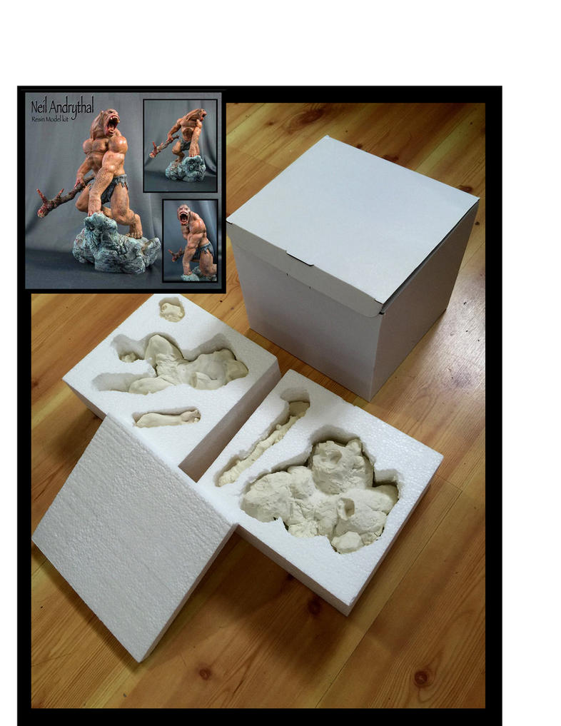 Original Newmanoid Models Neil Andrythal model kit by MarkNewman