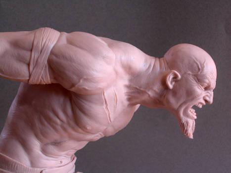 Kratos sculpture