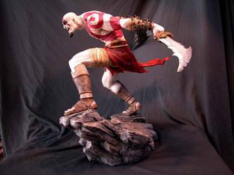 Kratos sculpture 2 by MarkNewman
