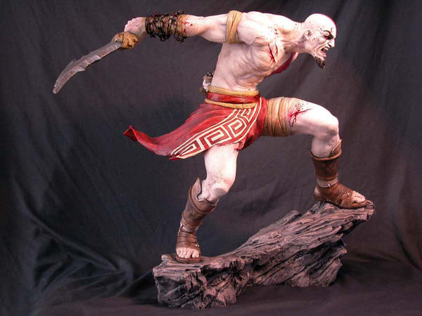 Kratos, from God of War