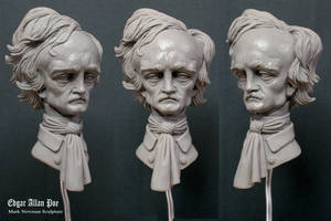 Edgar Allan Poe by MarkNewman