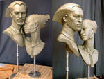 Male and Female bust's
