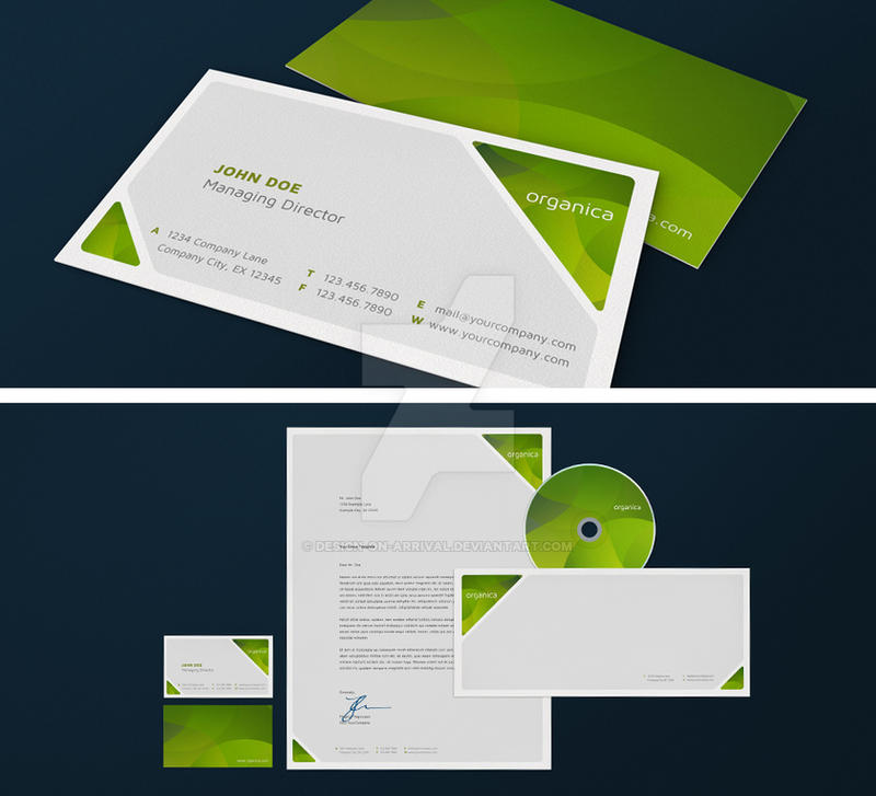 Organica Corporate Design by design-on-arrival