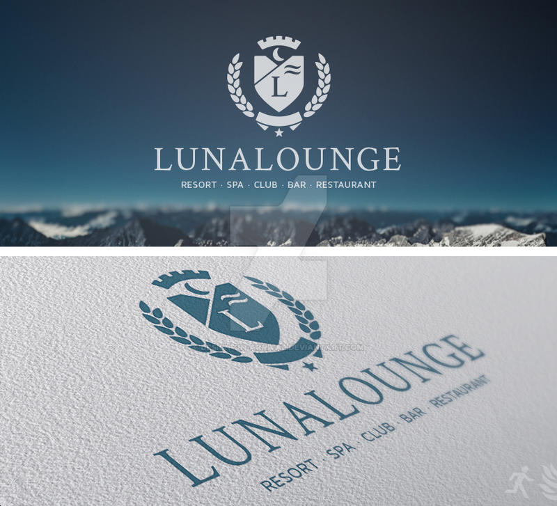 DOA Lunalounge Logo Template by design-on-arrival