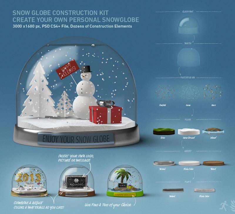 DOA Snow Globe Construction Kit