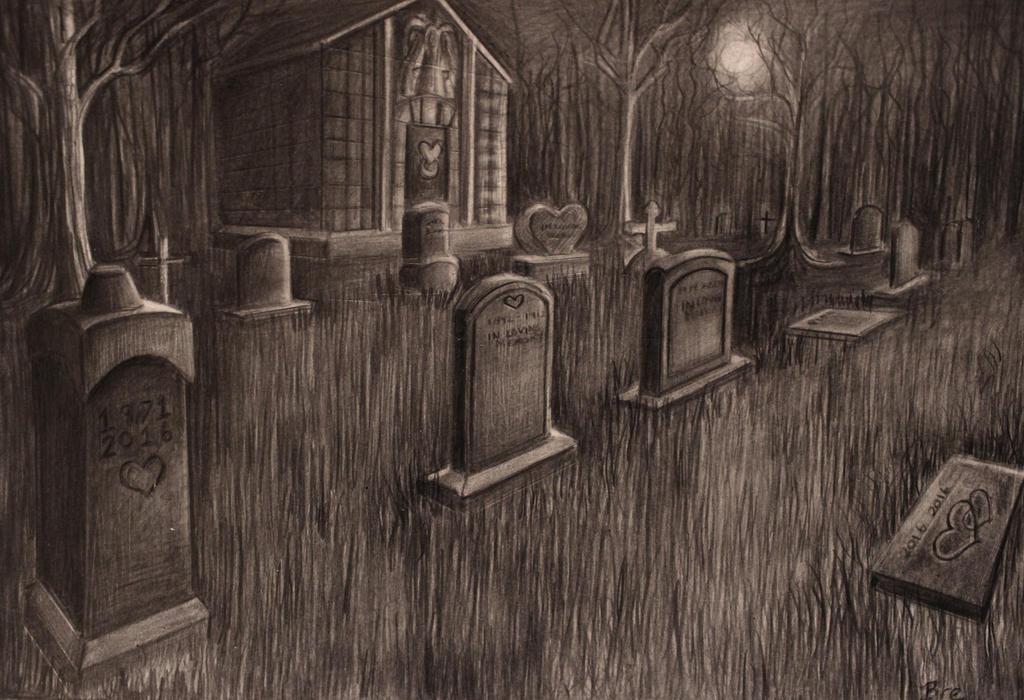 Graveyard by Marybriannemckay