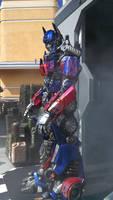 Optimus Prime Universal Studios
