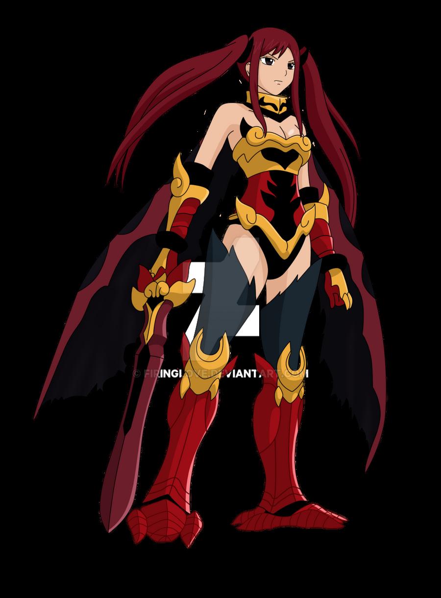 Erza Scarlet-Flame Empress Armor by FiringLove on DeviantArt