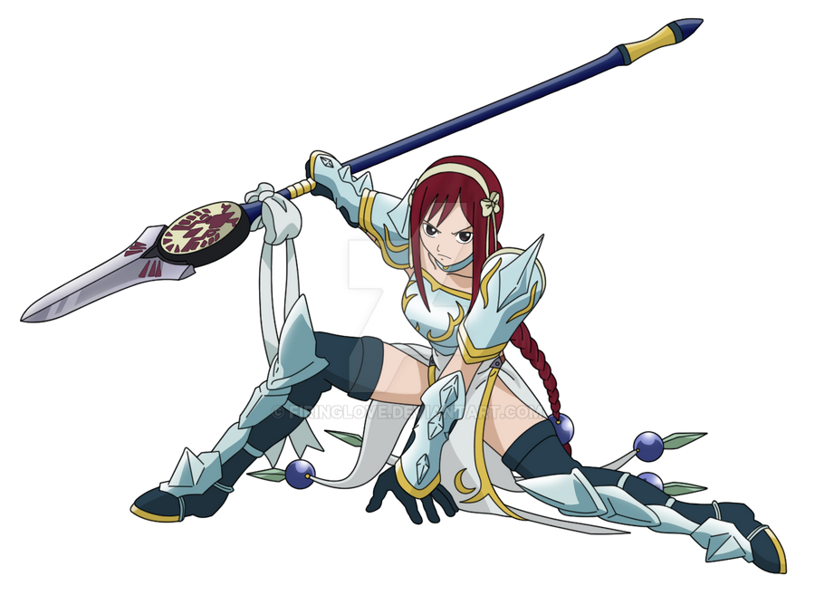 Erza Scarlet Sea Empress Armor Images & Pictures - Becuo