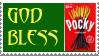 God Bless Pocky Stamp by b4k4-san