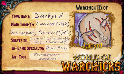 My Warchick ID