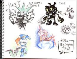 Doodle_The Legion of Evil by Sukapon-ta
