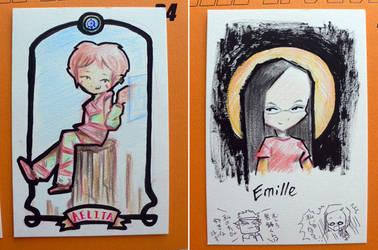 Aelita and Emille by Sukapon-ta