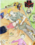 Ichigo and Orihime Fanart