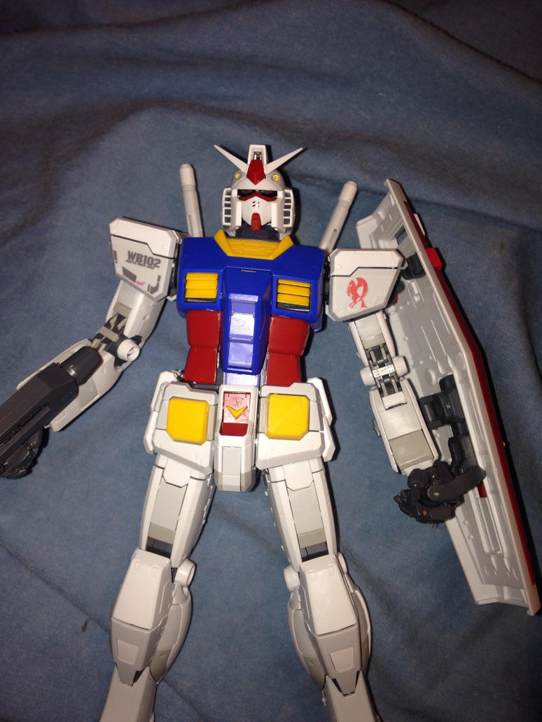 Mg RX-78-2 GUNDAM ver 3.0 declaed by pugwash1