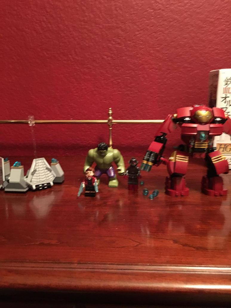 Lego marvel superheroes the hulk buster smash set by pugwash1